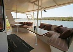 Is a houseboat an option for your next holiday? Holiday Packages, Next Holiday, Outdoor Furniture, Outdoor Decor, South Africa, Night, Bed, House, Travel