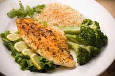 10 minute Talipia. It comes in a sensible serving size so this fish needs to be your BFF Alex :-)