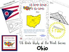 Come see Week 37 of the FREE US State Study of the Week Weekly Series and get your Ohio themed Pack.