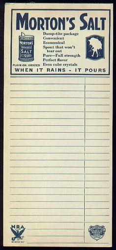 Morton's salt notepad:    http://www.lilac-n-lavender.blogspot.com/2012/04/roses-of-yesterday.html