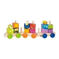 Fantaisia Blocks Train Toy