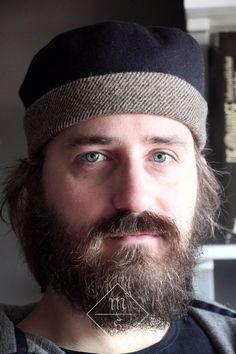 Medieval Silkwork: Mr. B's hat # 1 The pattern is taken from Herjolfsnes no. D10610