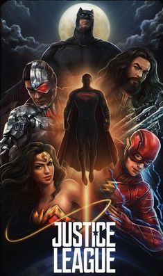 Justice League Movie Poster 2017 With Full Justice League Drawn, Take A Look at 19 Justice League Easter Eggs and Missed Details - DigitalEntertainmentReview.com