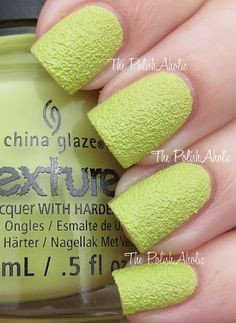 China Glaze Texture Collection Swatches