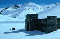 One of my top three current travel dreams is to traverse the entire old Silk Road overland from China to Europe. Here is Tash Rabat caravanserai high in the Tian Shan mountains of central Kyrgyzstan, a fortified travelers inn dating from the 15th century.