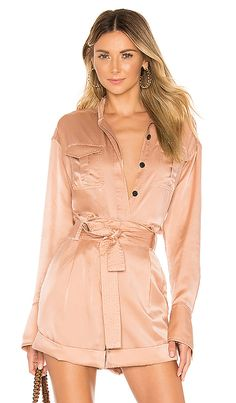 Meyer Top in Dusty Rose at REVOLVE. Beautiful Casual Dresses, Dress Up, Shirt Dress, Ulla Johnson, See By Chloe, Dusty Rose, Pop Fashion, Brown And Grey, My Style