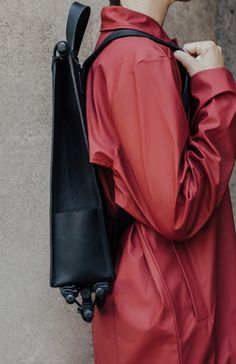 Sac à Dos: A Minimalist Backpack by The Atelier YUL: - Design Milk