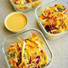 MEAL PREP CRISPY CHICKEN NOODLE SALAD WITH CREAMY PEANUT DRESSING .  .  SHORT on time? but still want to eat healthy? .  .  This #mealprep recipe is a MUST save!  With only 3 ingredients and one drool worthy dressing this is the quickest, most delicious meal prep meal you are going to make! Makes 3 lunches. Healthy Toddler Snacks, Healthy School Lunches, Toddler Food, Toddler Meals, Healthy Breakfast Recipes, Eat Healthy, Lunch Box Recipes, Baby Food Recipes, Peanut Dressing