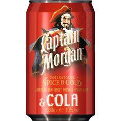 Captain Morgan spiced gold & Cola 0,33 Liter Dose