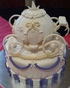 A cake fit for a princess made by Cake Your Dreams!!