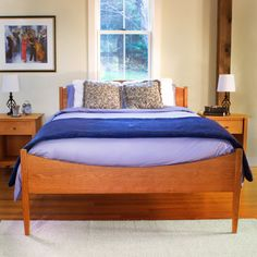 Our Environmentally Friendly Vermont Made Shaker Moon Bed Is Handcrafted In  Vermont By Skilled Artisans.