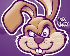 30 Funny Rabbit Logo for Inspiration - Smashfreakz