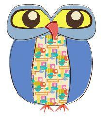 Day 347: Retro Owl from http://owladay.wordpress.com