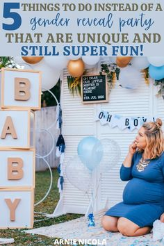 These are honestly the best gender reveal party alternatives out there! Little Boy Names, All About Pregnancy, Advice For New Moms, Baby On A Budget, Preparing For Baby, Before Baby, Babies First Year, Breastfeeding Tips, Reveal Parties