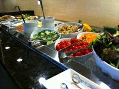 Salad Bar - Easter Brunch 2014 at Hyatt Regency Crystal City