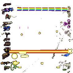 Resultado de imagen de pixel art bullet animation