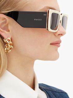 Glasses Frames Trendy, Funky Glasses, Eye Glasses, Gucci Sunglasses, Sunglasses Women, Sunnies, Tom Ford, Ace Tate, Cartier