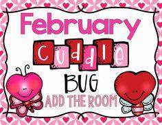 Freebielicious: Cuddle Bug Add The Room Kindergarten Math Activities, Kindergarten Christmas, Preschool Math, Math Resources, Preschool Ideas, Math Classroom, Classroom Ideas, Classroom Crafts, Math Stations