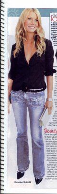 Blue cult jeans | in her blue cult jeans with the front flap pockets
