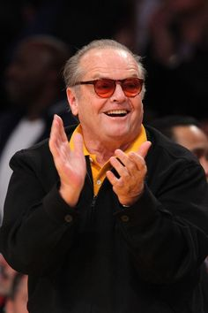 Jack Nicholson-He's funny and we could go to a Laker game!