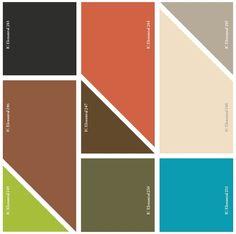 Comex Tendencias: Paleta de Color Tendencia Elemental - Comex Tendencias Elemental 2014