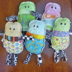 Five Loopy Dolls by Toni Swedberg, via Flickr