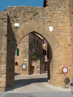 Montichiello, Pienza, Siena, Tuscany, Italy #travel