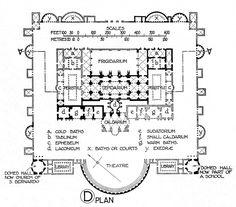 roman ground plan of edifice - Cerca con Google