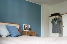 Cool Down U2013 Blaue Wand Im Schlafzimmer