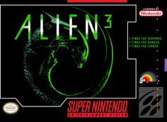 Alien 3 SNES by Probe Entertainment. Best Aliens game to date.
