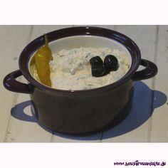 Feta-Käse-Creme - Rezept  Feta-Käse-Creme ist einfach lecker vegetarisch glutenfrei