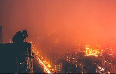 top of skyscraper | Tumblr
