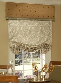 decorating with roman shades | Preston Sheer Tailored Balloon