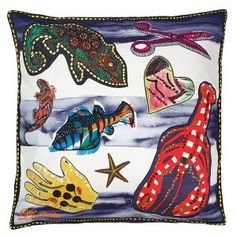 Coussin Santaria Saphir by Christian Lacroix