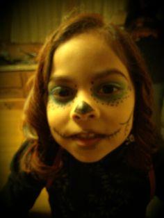 Monster High makeup Skelita Monster High Makeup, Stuff To Do, Carnival, Creative, Face, Painting, Carnavals, Painting Art, The Face