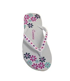 92b863b6e3ee5 Dona Michi Leather Women Beach Flip Flop Thong Sandal with flower pattern  Straps     Sincerely hope that you enjoy our photo.