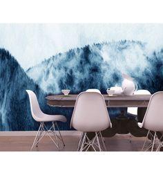 Estompe est une création de Sean Fangous pour MYFRESKO le papier peint artistique d'exception