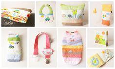 CaroMia <3 -Quilts (mantas acolchadas) -Baberos -Bolsos con asa -Porta pañales  -Sujeta chupón -Sleeping Bag -Libro acolchado para bebes! www.facebook.com/micaromia