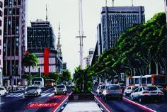 Paulista avenue - Markers - 45X55cm - 2013b