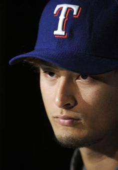 Yu Darvish (Texas Rangers) Not amused.