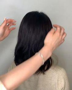 Hidden Hair Color, Two Color Hair, Korean Hair Color, Perfect Hair Color, Hair Color Streaks, Hair Dye Colors, Hair Color Ideas, Kpop Hair Color, Hair Color Underneath