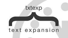 In a regular day, most of us type the same things over and over again, wasting an enormous amount of time in the process. Why not let your computer do some of that work for you? That's where text expansion comes in.