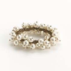 Factory elastic beaded bracelet - J.Crew ($23) ❤ liked on Polyvore featuring jewelry, bracelets, accessories, beaded bangles, bracelet bangle, elastic bead bracelet, beads jewellery and beaded jewelry