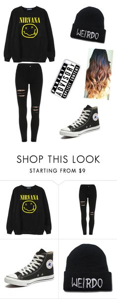 """school day"" by holly122201 on Polyvore featuring Chicnova Fashion, Converse, CellPowerCases, women's clothing, women's fashion, women, female, woman, misses and juniors"