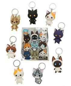 Cute Cat Blind Boxes - Purrfect Pets Cat key chains