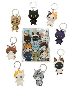 Cute Cat Blind Boxes - Purrfect Pets Cat key chains
