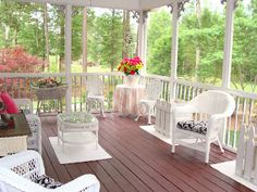 My screened porch!