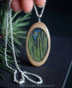 Wooden dried flowers necklace grass oval pendant dried flowers rustic eco jewelry pressed flower herbarium wooden resin Christmas gift by sincereworkshop on Etsy Recycled Jewelry, Wooden Jewelry, Beaded Jewelry, Diy Resin Crafts, Jewelry Crafts, Resin Jewelry Making, Flower Necklace, Resin Necklace, Necklaces