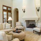 Spanish Colonial Hacienda, Carmel, California - Mediterranean - Living Room - other metro - by John Malick & Associates