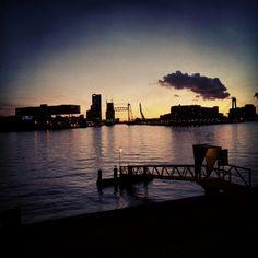 Holland, Rotterdam skyline